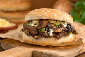 Summer Recipe: Flank Steak Sandwiches With Blue Cheese